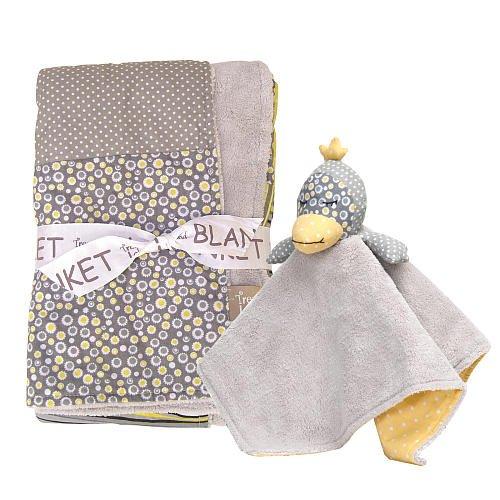 Trend Lab Hello Sunshine 2 Piece Blanket Gift Set front-269604