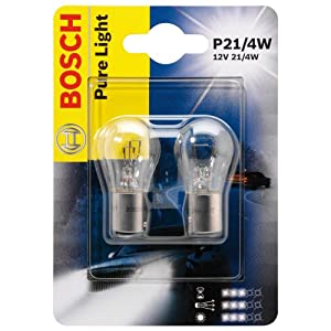 bosch 1987301015 car light bulb p21 4w pure light brake. Black Bedroom Furniture Sets. Home Design Ideas