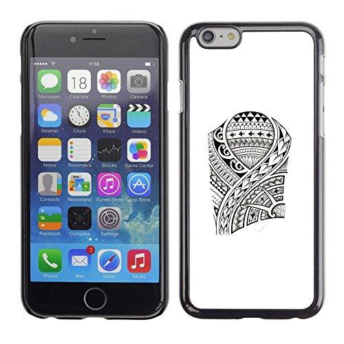 For Apple (4.7 inches!!!) iPhone 6,S-type® Art Pattern Fish Viking Style - Art & Design plastica dura Guscio Protettivo Cassa Cover
