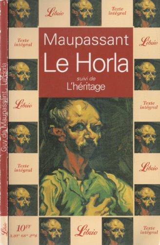 Horla, Le - 1 - (Spanish Edition)