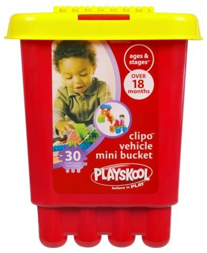 Playskool Clipo Vehicle Mini Bucket by Hasbro (English Manual)