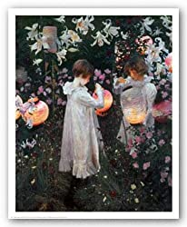 Carnation, Lily, Lily, Rose by John Singer Sargent 24&quot;x30&quot; Art Print Poster