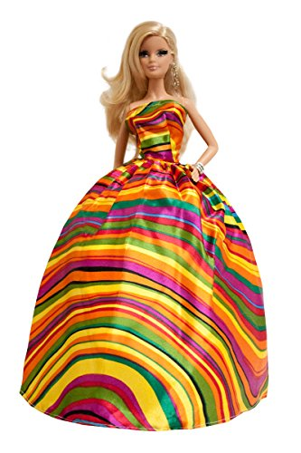 Barbie Color Wave Stripe Gown