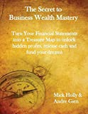 img - for The Secret to Business Wealth Mastery: Turn Your Financial Statements into a Treasure Map to unlock hidden profits, release cash and fund your dreams book / textbook / text book