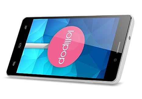 OUKITEL Original Pure - Smartphone Android 5.0 / Écran 5 pouces IPS / CPU Quad Core / Dual SIM / Smart Gesture / Réveil intelligent / OTG*
