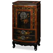 Hot Sale Chinese Style Jewelry Armoire - Tibetan Motif
