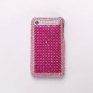 iPhone cover/case Two-Tone Pink Diamante