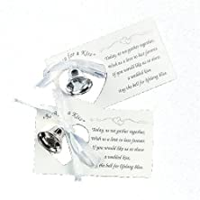 buy Silver Wedding Mini Bell Decorations Favors (Set Of 50)