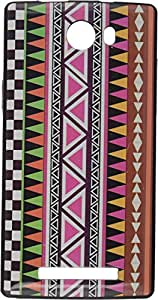 iCandy™ UV Printed Matte Finish Soft Back cover For Lava Iris Alfa - VERTIRJ