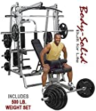 Body Solid Series 7 Smith Machine with 500-PoundWeight Set