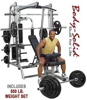 Body Solid Series 7 Smith Machine w/ 500 lb.