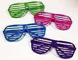 Dazzling Toys 80s Sunglasses - Party Favors - 12 Pack (D003)