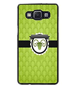 PrintDhaba Zodiac Aries D-3536 Back Case Cover for SAMSUNG GALAXY A5 (Multi-Coloured)