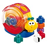 Toy - Mattel 71922-0 - Fisher-Price Musikschnecke, Sortierbox