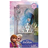 Disney Frozen Crown Tiara And Wand And Bracelet Set Of 3
