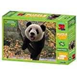 National Geographic Animal Rescue Panda gigante super 3d Puzzle (100-Piece, multicolor)