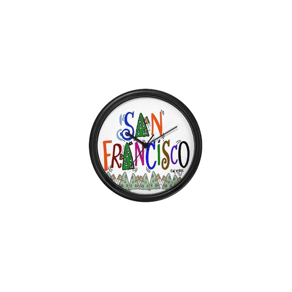 San Francisco Gift Funny Wall Clock by