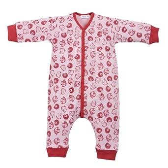 cotton people organic unisex baby schlafanzug einteiler overall ohne fu aus 100 bio. Black Bedroom Furniture Sets. Home Design Ideas