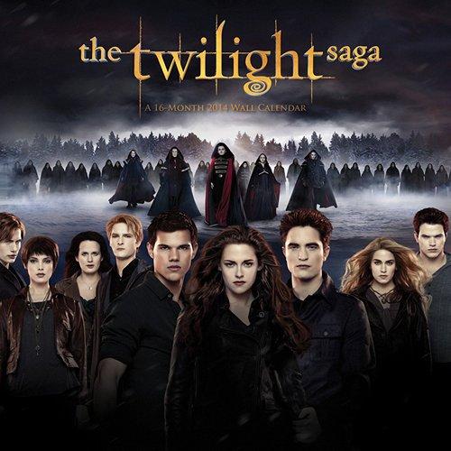 [2014 Calendar] Twilight Saga 2014 Wall Calendar Standard Wall Calendar