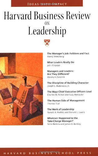 Harvard Business Review on Leadership (Harvard