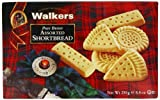 Walkers Assorted Shortbread 250 g (Pack of 3)