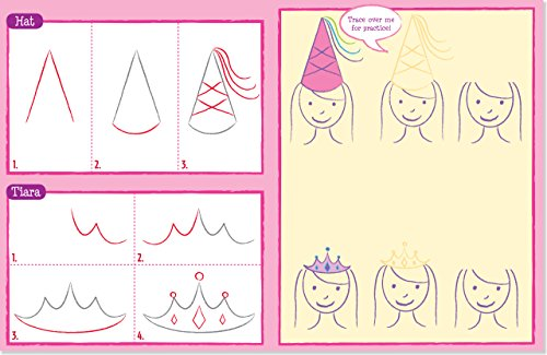 Learn to Draw Princess Kingdom!: Easy Step-By-Step Drawing Guide (Young Artist)