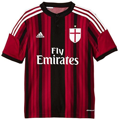 Adidas Home Maglia per ragazzi 2014-15 AC Milan, 140, D87244