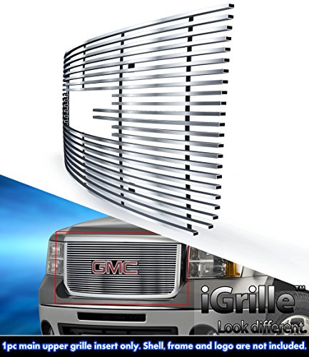 Stainless Steel eGrille Billet Grille Grill For 07-10 GMC Sierra 2500 HD (2500 Hd Grill Inserts compare prices)