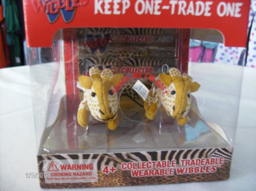Wibbles First Edition-- Giraffe -- Collectible, Wearable, Tradeable Toys