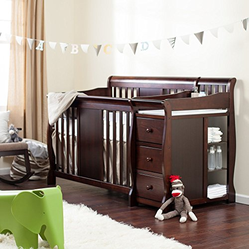 Why Should You Buy Storkcraft Storkcraft Calabria Crib N Changer, Espresso, Wood, Crib & Changer...