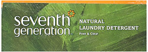 Natural Laundry Detergent, Free & Clear, Powder, 112 oz (3.17 kg)