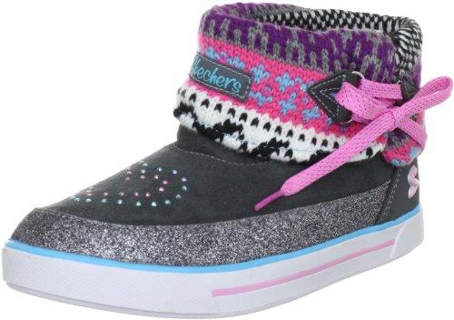 Skechers StreetsmartsBoots Girls Gray Grau (GYMT) Size: 35