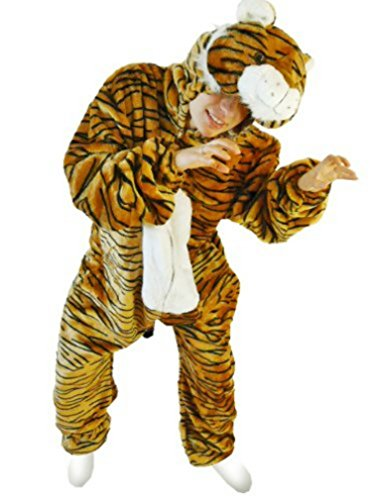 Fantasy World Men's F14 Tiger Costume (8/M-14/L)