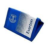 Everton FC Football Team Fade Velcro Fasten Wallet