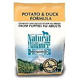 Natural Balance Potato and Duck Formula Dog Food, 5-Pound Bag