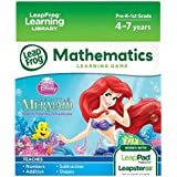 Leap Frog Disney The Little Mermaid Mathematics Learning Game (For Leap Pad Tablets And Leapster Gs)