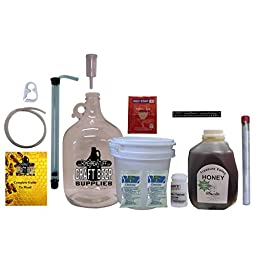 HomeBrwStuff One Gallon Nano-Meadery Premium Mead Kit