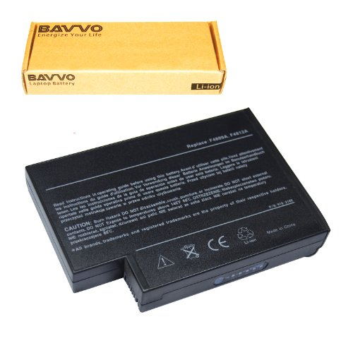Bavvo 8-chamber Laptop Battery for HP Pavilion 4000 4400 xt545 ze4230 ze4900 ze5600 ze4300 ze4400 ze4500