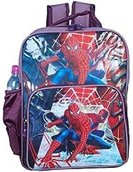 Spider Man Cartoon Character Waterproof School Children's/ Girls Backpack