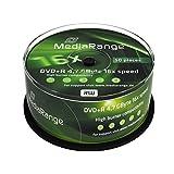 MediaRange Dvd+r 4.7GB MR445 - Confezione da 50