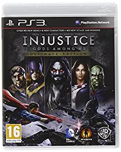 Injustice: Gods Among Us Ultimate Edition PS3 UK (PS3)
