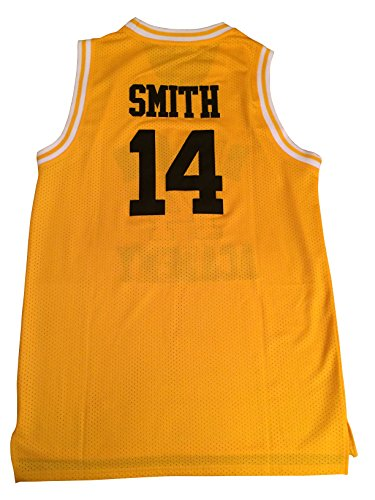 The Fresh Prince of Bel-Air Will Smith #14 Basketball Jersey (X-Large)