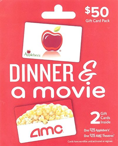 Applebee's - AMC Dinner & A Movie, Multipack of 2 - $25 (Amc Theaters compare prices)