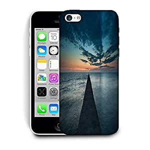 Snoogg Concrete Pier Printed Protective Phone Back Case Cover For Apple Iphone 6+ / 6 Plus