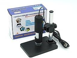 New Landing 1-50x/600x 2 Mega-pixels Usb Microscope