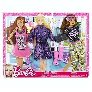 Barbie Pink Passport Fashion Pack Uk