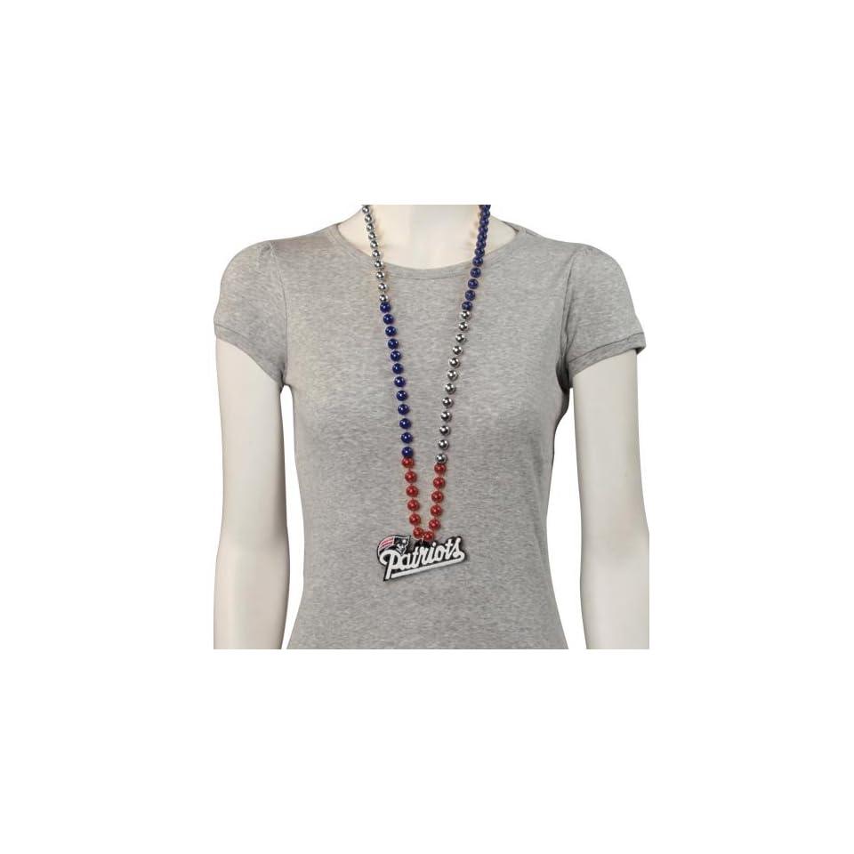 New England Patriots Team Logo Medallion Beads