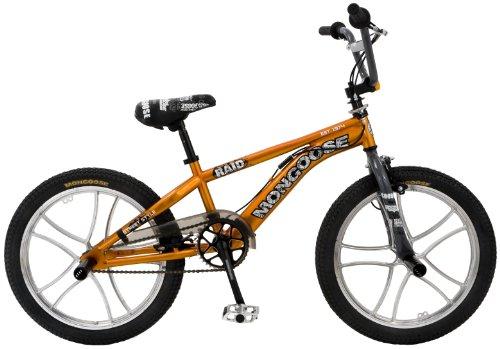 """Mongoose Raid 20"""" Freestyle BMX Bike Orange"""