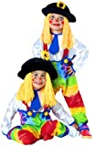 Kids Colorful Clown Costume