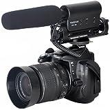 amzdeal® Richtrohrmikrofon Kamera Mikrofon Takstar SGC-598 für Nikon Canon DSLR Camcorder DV